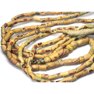 Rare Heirloom Akoso Powder Glass Beads from Ghana