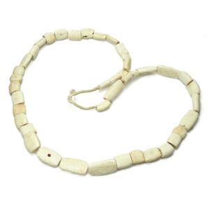 Arca Shell Hand Carved Heirloom Beads from Mali