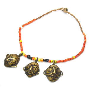 "Naga Tribal Prestige ""Headhunter's"" Necklace, B"