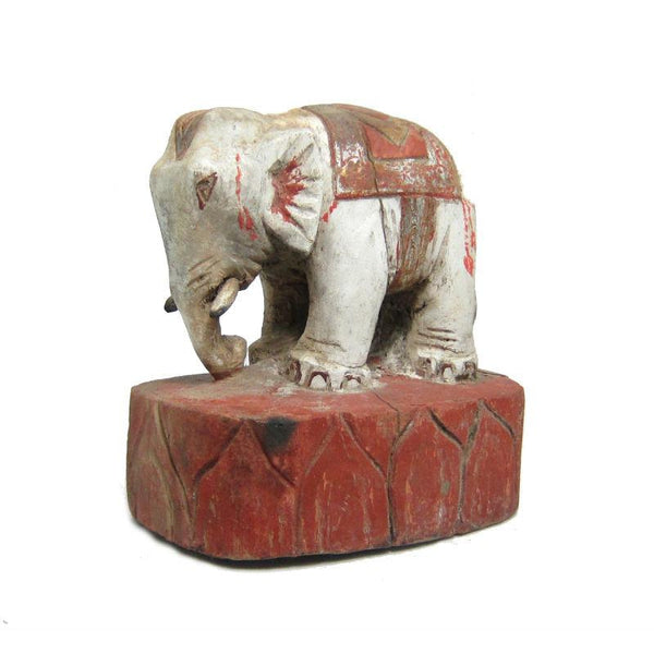 Antique Elephant Figure-03