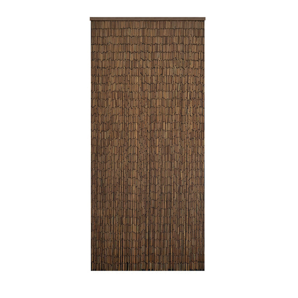 Bamboo Beaded Curtain Hand Painted-Plain