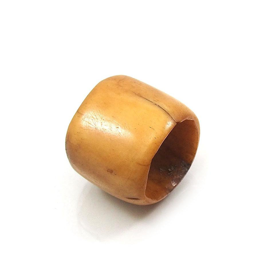 Tiv Cowbone Finger Rings from Nigeria