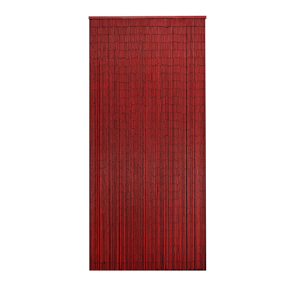 Bamboo Beaded Curtain Hand Painted-Rose