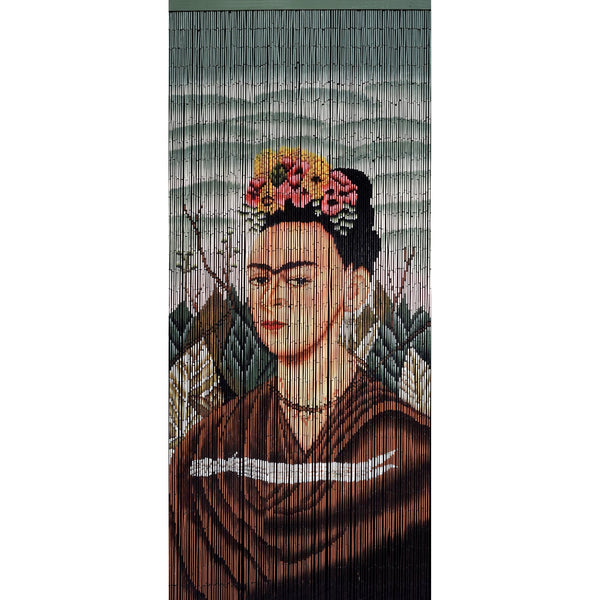 FINAL SALE Factory Second Bamboo Beaded Curtain - Frida