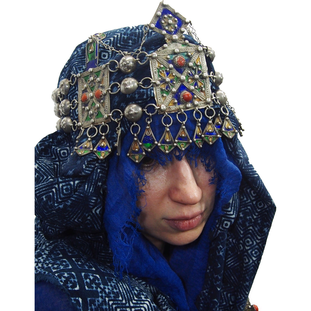 Kabyle Enamel Chain-Link Crown