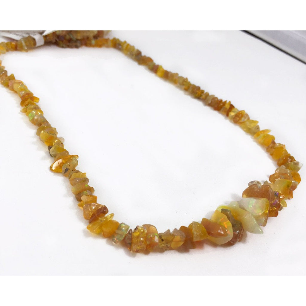Fire Opal Chips Strand