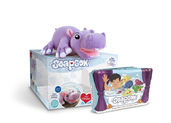 Harper the Hippo Gift Set