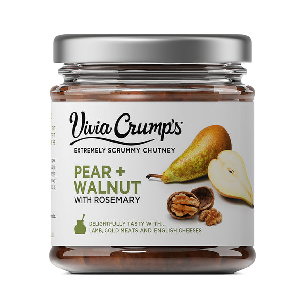 Vivia Crumps Pear & Walnut 200g