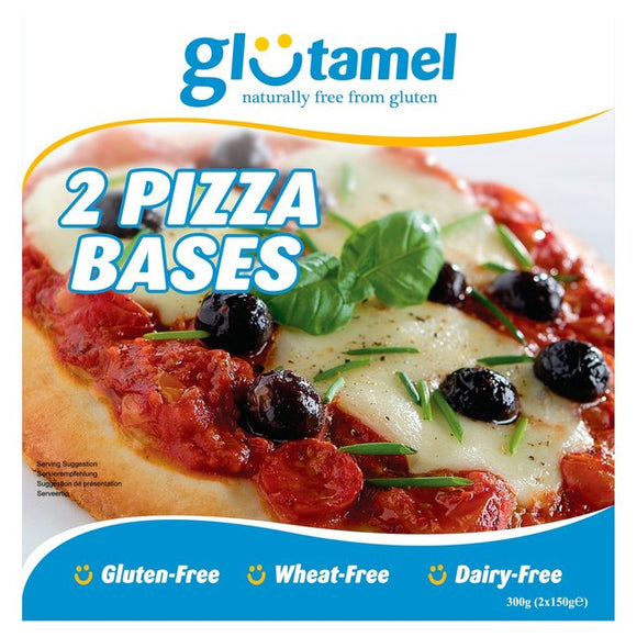 Glutamel pizza bases - 2 pack