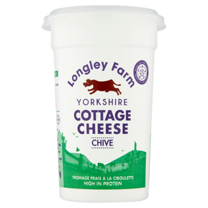 Longley Farm Cottage Cheese with Chives 250g