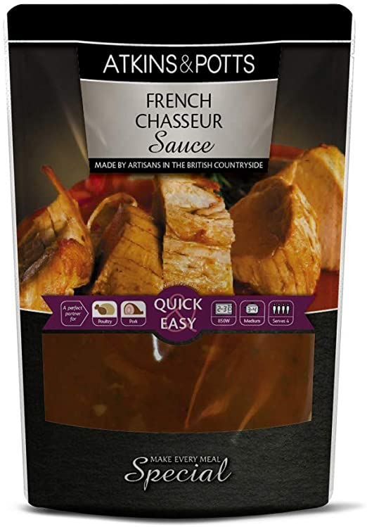 Atkins & Potts chasseur sauce