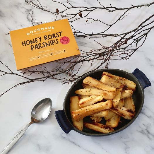 Gourmade honey roast parsnips