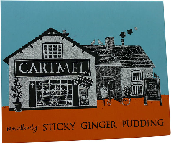 Cartmel Sticky Ginger Pudding