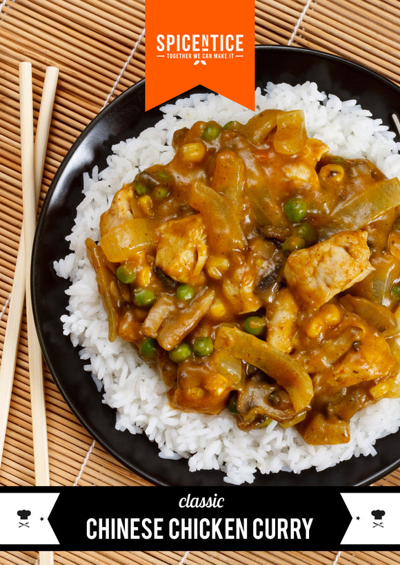 Chinese Chicken Curry Spice Card