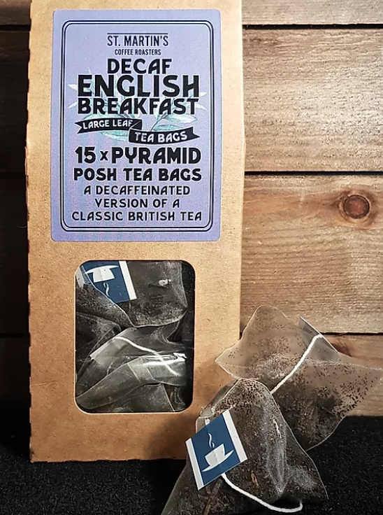 Decaf English Breakfast Teabags