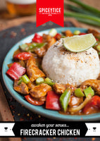 Firecracker Chicken Spice Card