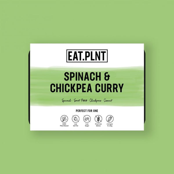Spinach & Chickpea Curry - Serves 1 (350g)