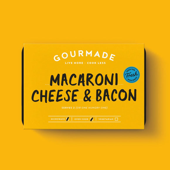 Mac, Cheese & Bacon - Serves 1 (350g)