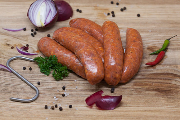 Pork & Chorizo Sausages (Pack of 8)