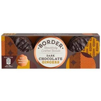 Borders Dark Chocolate Gingers