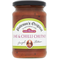 Pattesons Lime & Chilli Chutney