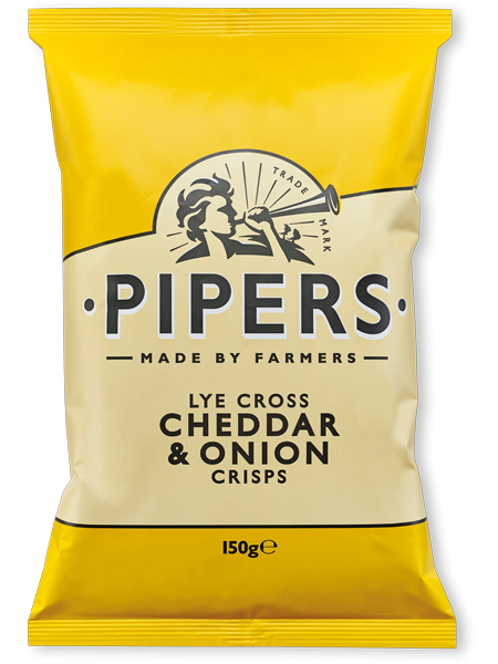 Pipers - Cheddar & Onion