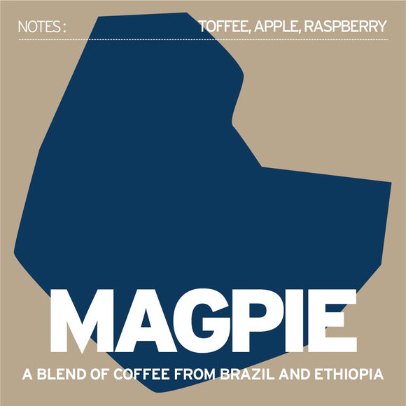 The Magpie Espresso 250g - Ground