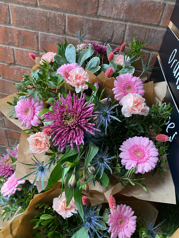 Mother's Day Barley & Rose Bouquet (Large)