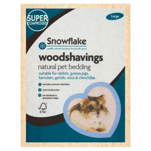 Snowflake Pet Wood Shavings