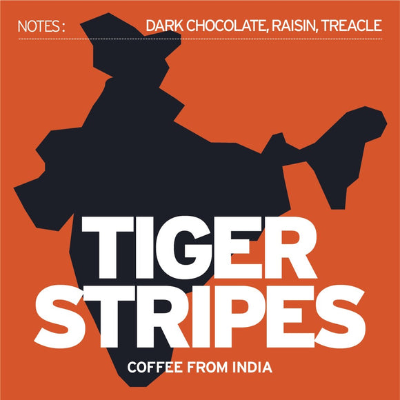 Tiger Stripes, India 250g - Ground