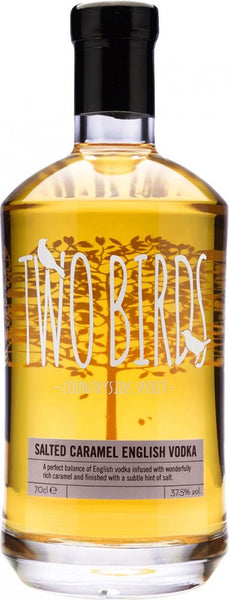 Two Birds Salted Caramel English Vodka 20cl 37.5%