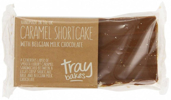 Traybakes - Caramel Shortcake with Belgian Chocolate