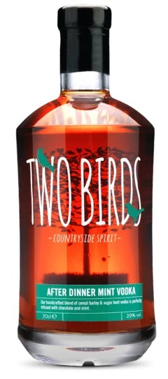 Two Birds After Dinner Mint & English Vodka 20cl (29%)