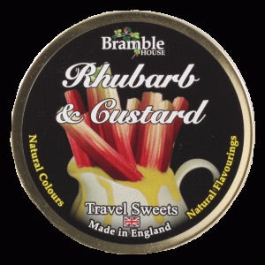 Bramble House Travel Sweets - Rhubarb & Custard