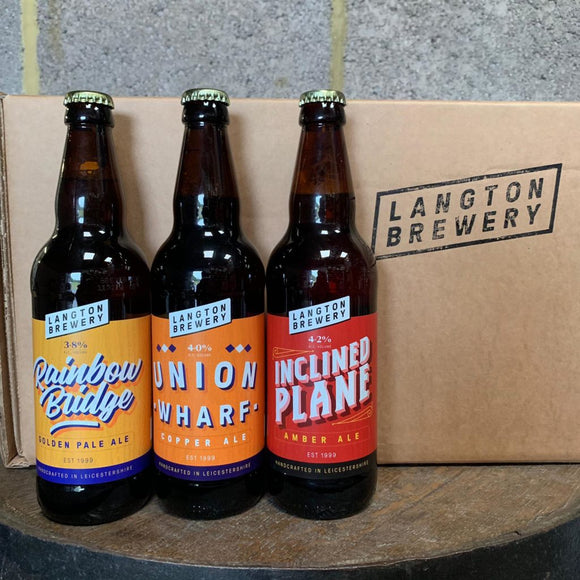 4 Langton Brewery Craft Beers (BBQ Box Add-on)