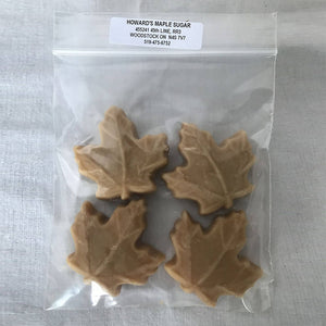 Howard's Maple Sugar Candy - package of 4
