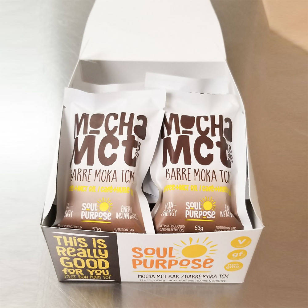Mocha MCT Bar - Box of 12