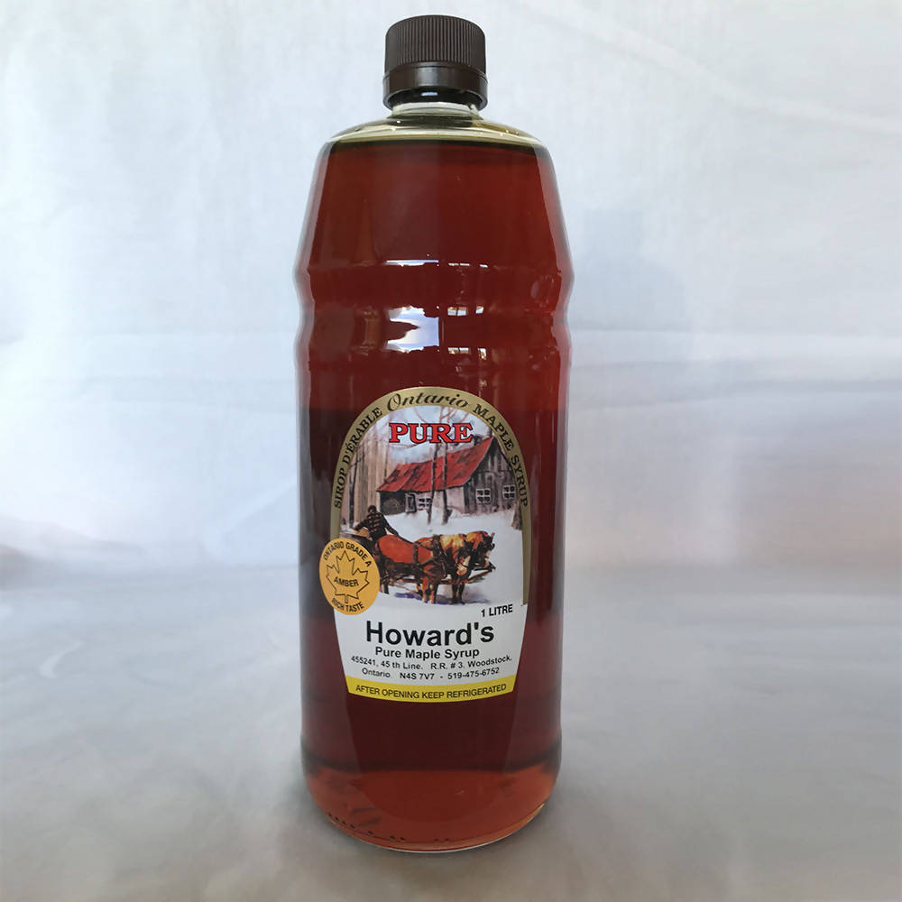 Howard's Maple Syrup - 1L glass