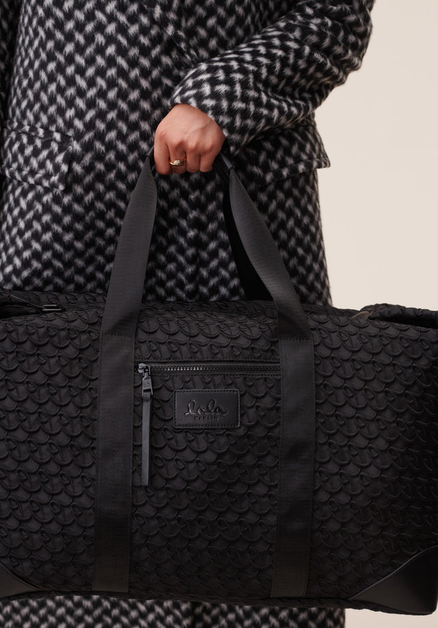 Big Bag Muriel XL Monogram Monogram Black - A large weekender with carefully stitched lala Berlin Monogram on... - 3/11