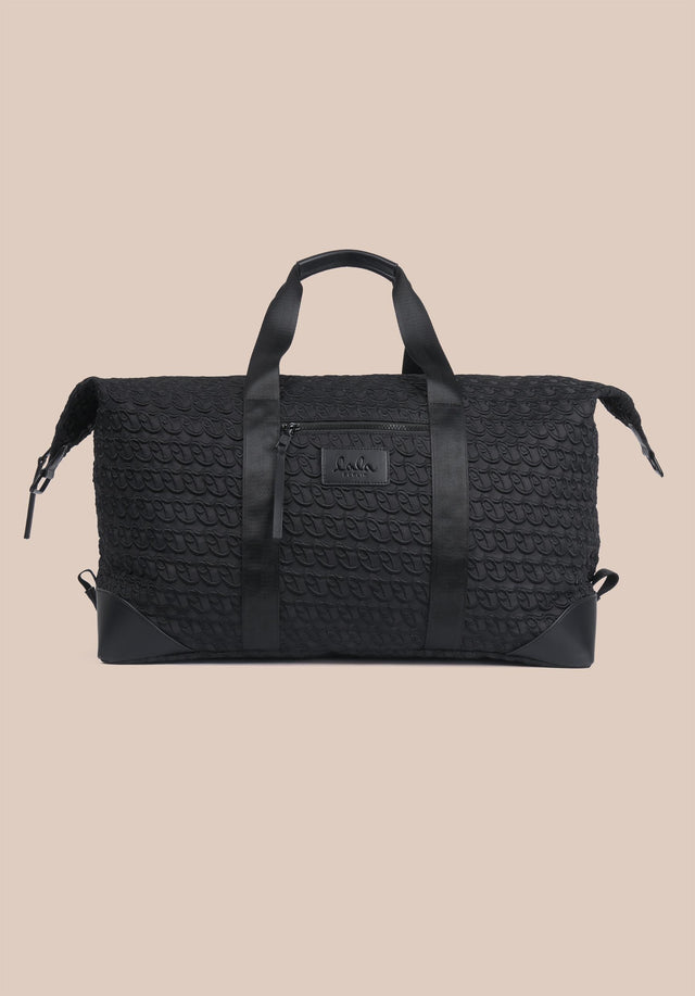 Big Bag Muriel XL Monogram Monogram Black - A large weekender with carefully stitched lala Berlin Monogram on... - 5/11