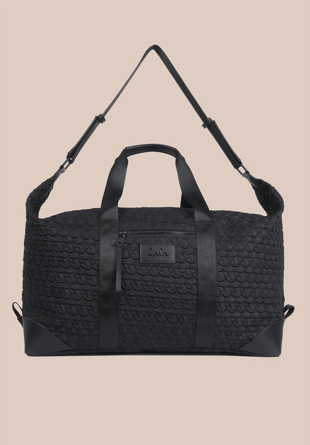 Big Bag Muriel XL Monogram Monogram Black - A large weekender with carefully stitched lala Berlin Monogram on... - 6/11
