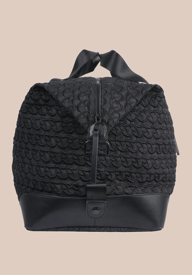 Big Bag Muriel XL Monogram Monogram Black - A large weekender with carefully stitched lala Berlin Monogram on... - 9/11