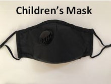 Load image into Gallery viewer, Reusable Respirator CHILDRENS Face Mask PM2.5 - Washable with Exhalation Valve