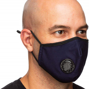 Reusable Respirator Face Mask PM2.5 - Washable with Exhalation Valve