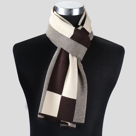 Elegant Scarf/Ascot | Winter Chic