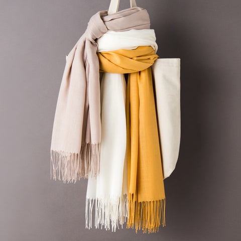 Cashmere Scarf/Shawl | Fashionably Warm