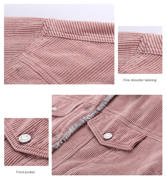 Cotton-Lined Corduroy Jacket | Fashionably Warm