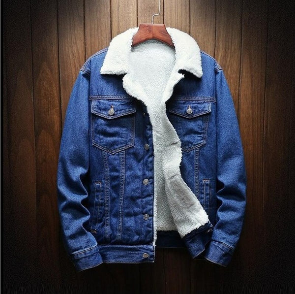 Wool-Lined Denim Jacket | So-Cal Casual Apparel