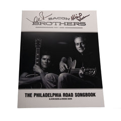 Bacon Brothers Autographed Philadelphia Road Songbook