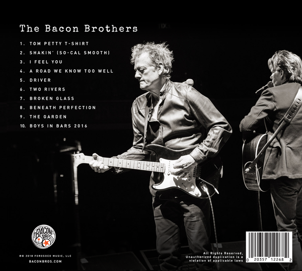 The Bacon Brothers Autographed CD